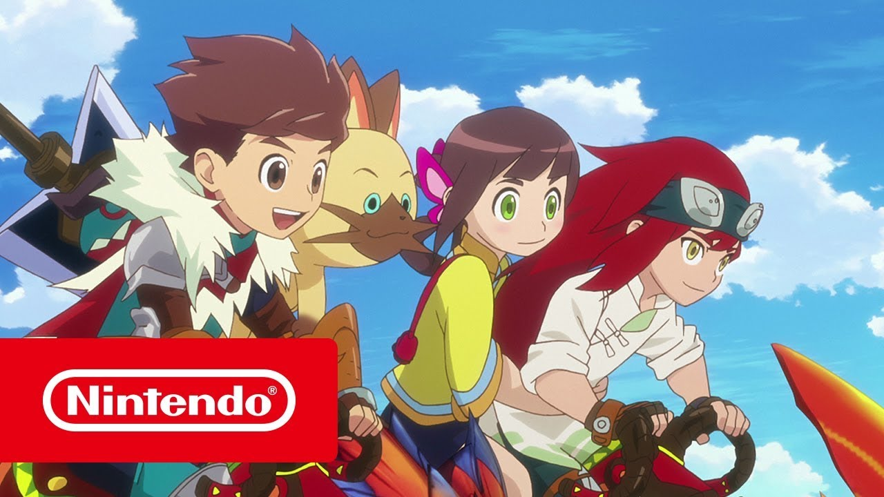 Monster Hunter Stories Ride On Episode 1 Youtube