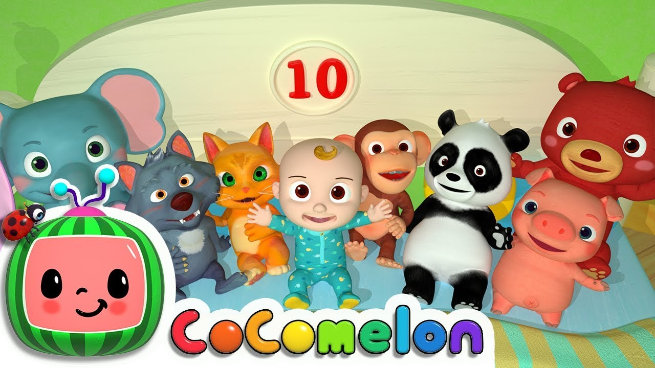 Ten In The Bed Cocomelon Nursery Rhymes Kids Songs