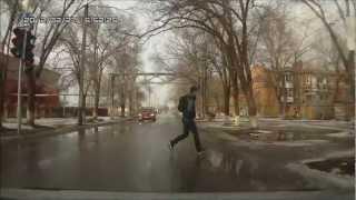 Пешеход-идиот! # 1