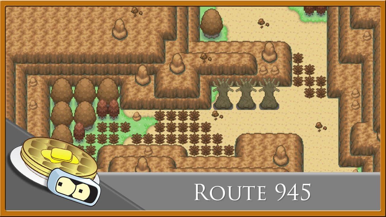 Route 945 Speed Development - RPG Maker XP (Pokemon Essentials)