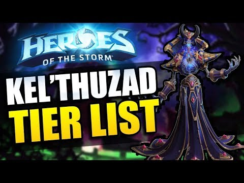 Kel'thuzad patch (new season!) tier list // Heroes of the Storm