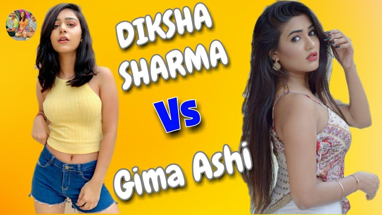 Diksha Sharma vs Gima Ashi | RIMORAV VLOG vs TIKTOK | Ri ...