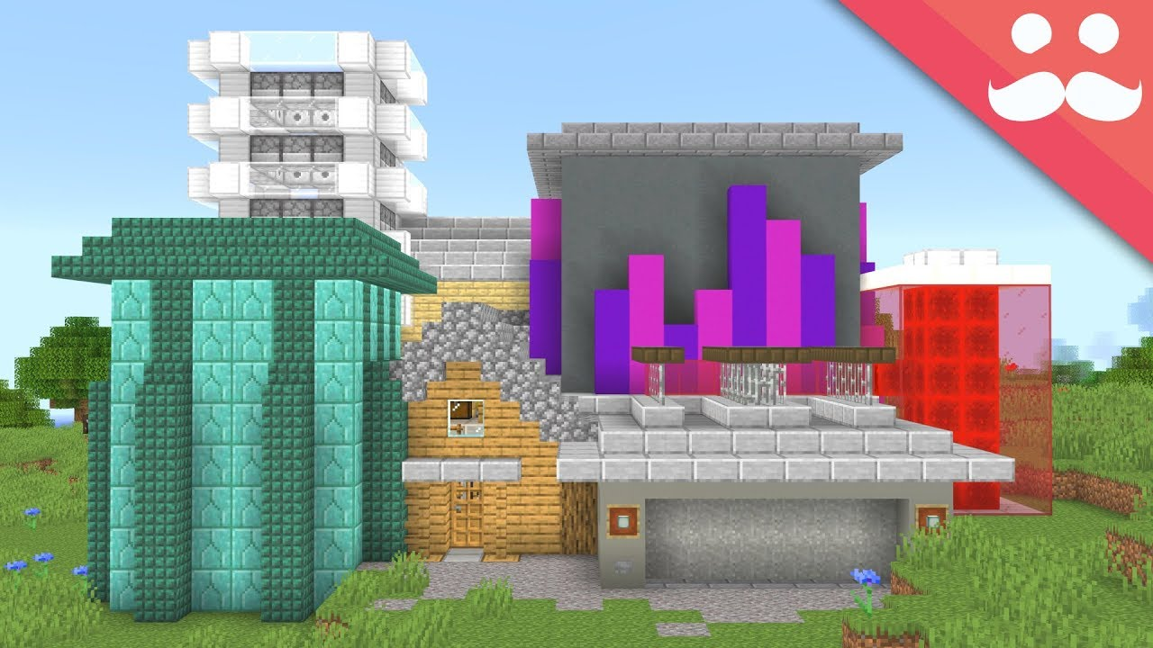 I Made A House Out Of Your Ideas In Minecraft