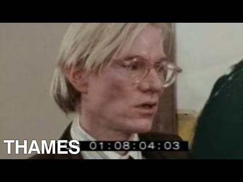 Andy Warhol interview | Pets | Thames Television |1976