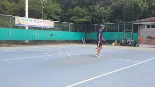 [테니스 레슨1]그래비…