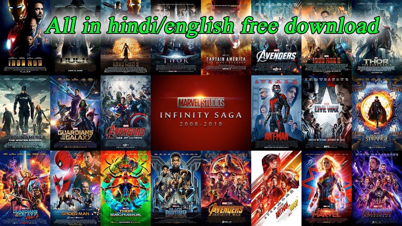 Download Marvel Cinematic Universe (2008-2019) All Movies 720p 480p Dual Audio [Hindi-English] - MnzrMovies