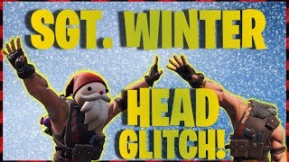 SGT. WINTER HEAD GLITCH SUR FORTNITE!