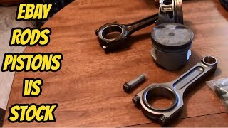 integra Ebay Rods and Nippon Pistons compared to stock