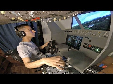 PMDG Boeing 737 Home Cockpit | Skiathos to Samos FULL FLIGHT | Short Takeoff/Landing | GoPro Cockpit