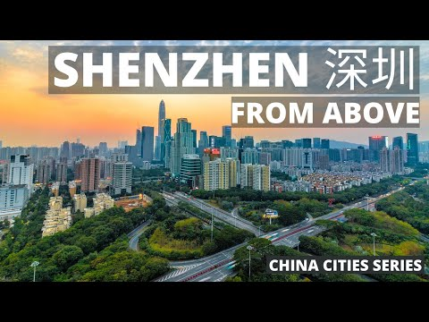 Epic 4K Aerial Tour of Shenzhen - China and the World's Future City!