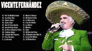Vicente Fernandez Grandes Exitos Youtube