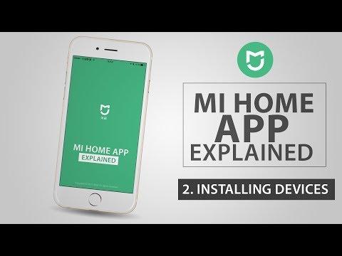 Xiaomi Mi Home App [ 2  Installing Devices ] - YouTube