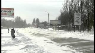 Северный выезд из Мелитополя(За ночь все усилия коммунальщиков по расчистке участка дороги на Северном выезде из Мелитополя были сведен..., 2014-01-30T10:30:27.000Z)