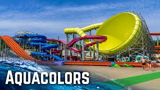 ALL WATER SLIDES at Aquacolors Poreč, Croatia!