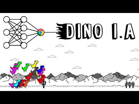 Inteligência Artificial destruindo no dinossauro da Google! (Rede Neural)