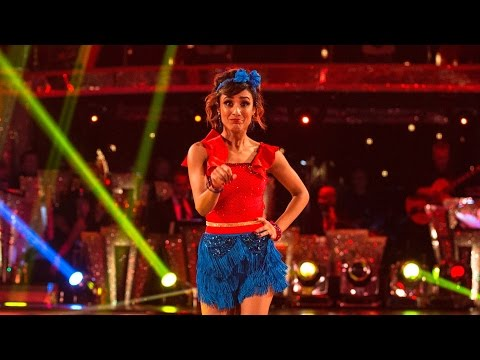 Anita Rani & Gleb Savchenko Jive to 'The Boy Does Nothing' - Strictly Come Dancing: 2015