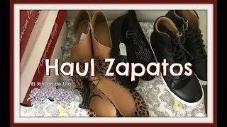 Haul de zapatos acumulados de …