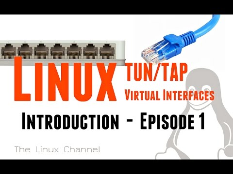 173 Linux TUN/TAP virtual network interfaces - Introduction Episode1