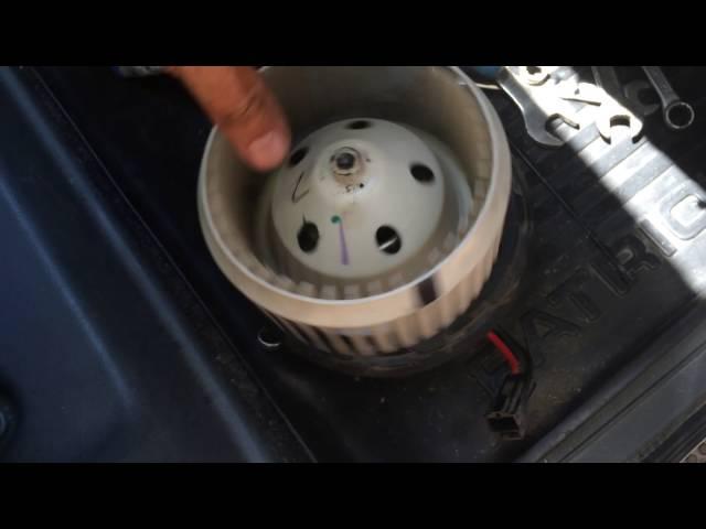 Уаз патриот 2010гв вентилятор печки. Обслуживание