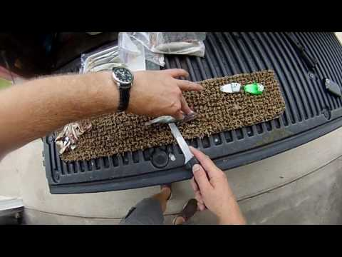 DIY Herring Strips For Salmon Fishing - NFN's How To Make Meat Strips