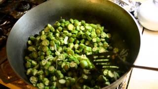 How to make Pakistani Fried Okra