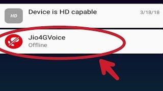 How to Fix Jio 4G Voice Ofline Problem