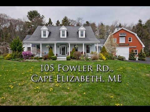105 Fowler Rd., Cape Elizabeth, ME