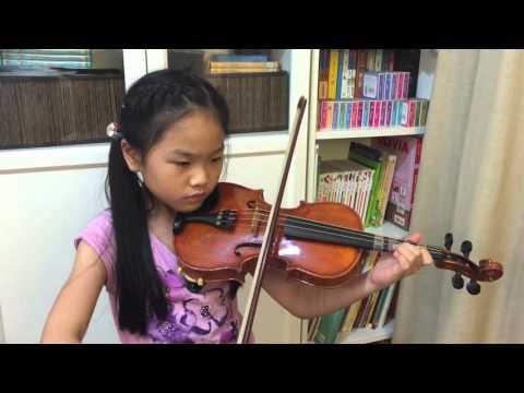 Violin practice- La Petite Danseuse 11/25
