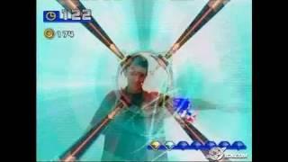 SEGA Superstars PlayStation 2 Gameplay - Sonic