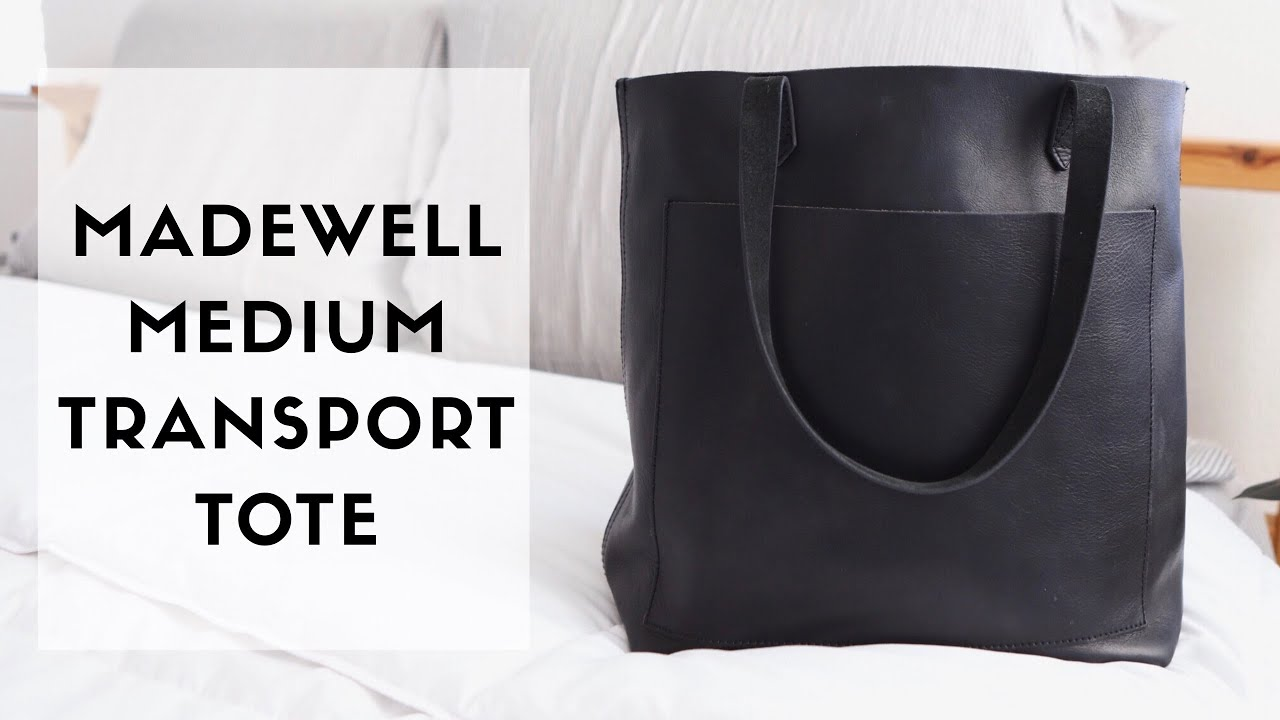 0e04a95370ca MADEWELL TRANSPORT TOTE (medium) // whats in my bag - YouTube