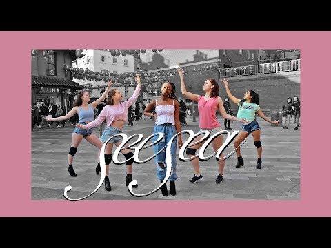 [AZIZA] K-POP IN PUBLIC LONDON   HYOLYN (효린) - SEE SEA (바다보러갈래) dance cover