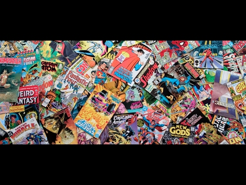 Amazing Comic Book Haul with VHS  for February 2017