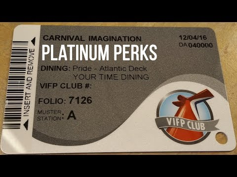 Platinum Perks On Carnival Cruises Vacation Impossible Podcast Youtube