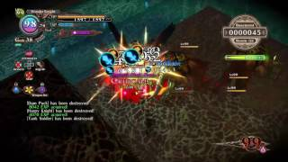The Witch and the Hundred Knight Basement Tower of Illusion Max.Lvl. Gameplay.