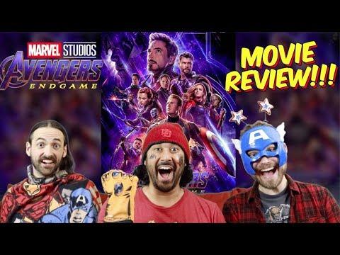 AVENGERS: ENDGAME - MOVIE REVIEW!!!