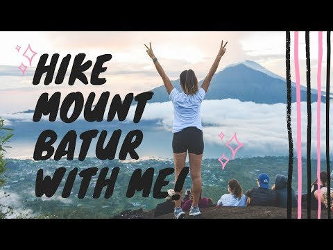 BALI VLOG #4: Hiking Mount Batur. Is It Worth It? What To Expect!