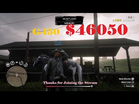 Red Dead Redemption 2(RDR2) Online(RDO) 45k+ $$$ Hunting, Showdown, Gun Rush thumbnail