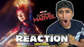 CAPTAIN MARVEL Trailer 2 (2019) - REACTION
