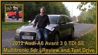 Audi A6 Avant 2012 Videos