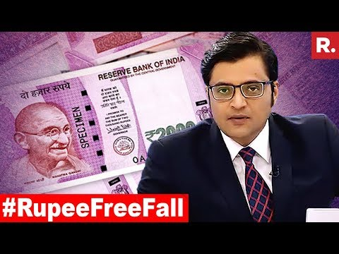 Has Government Failed To Stop Rupee Free Fall?  The Debate With Arnab Goswami