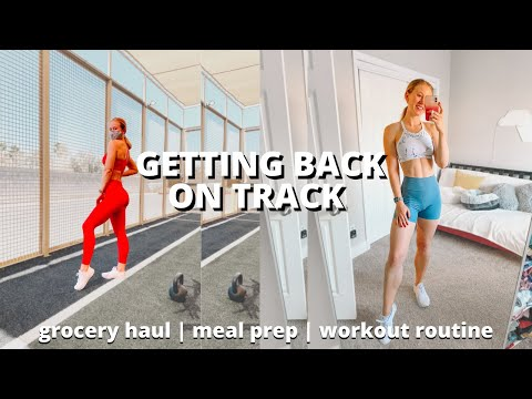 Getting Back on Track | Workout Routine, Healthy Eating, Realistic Goals