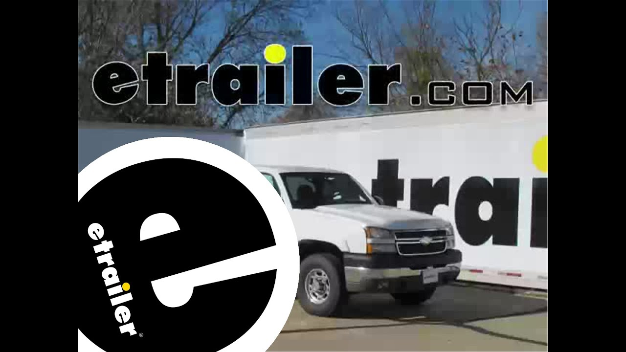 Installation of a Trailer Wiring Harness on a 2005 Chevrolet Silverado - etrailer.com - YouTube & Installation of a Trailer Wiring Harness on a 2005 Chevrolet ... jdmop.com