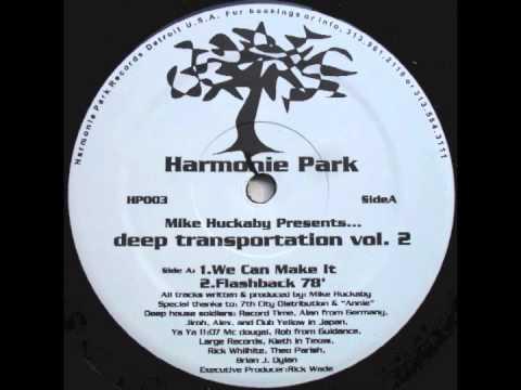 Mike Huckaby - Flashback 78' - Deep Transportation Vol. 2 (1996)