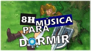 8 HORAS de MÚSICA RELAJANTE para DORMIR de The Legend of Zelda