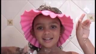 Шапочка-козырек для мытья головы или стрижки волос