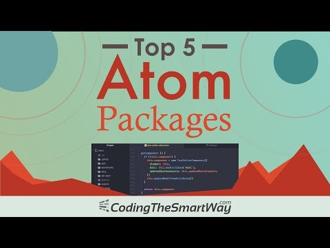 Top 5 Atom Code Editor Packages