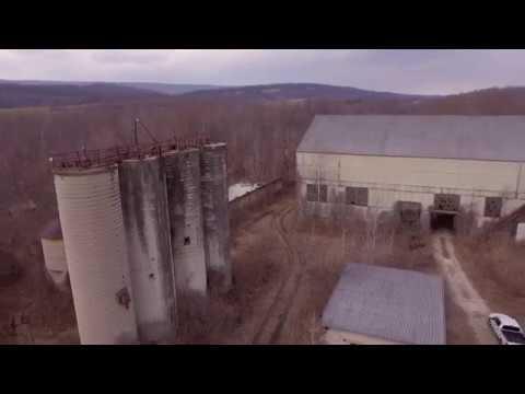 Abandoned Pennsylvania Glass Sand Plant, McVeytown, PA