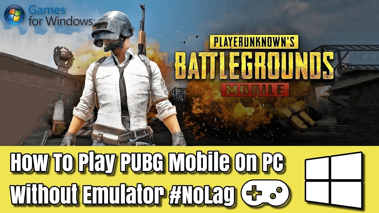 How To Install PUBG Mobile On PC Without Emulator #NoLag