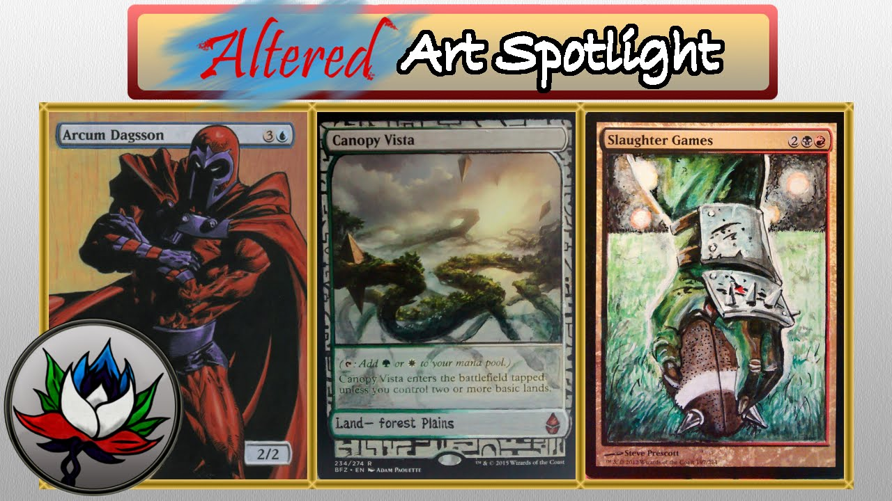 Altered art x men do it yourself expedition metroid blood bowl altered art x men do it yourself expedition metroid blood bowl and more mtg solutioingenieria Gallery