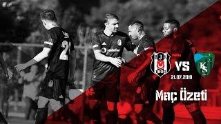 Beşiktaş: 7 Kocaelispor: 1 hazırlık maçı özeti  | Beşiktaş JK